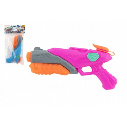 Obrázek Vodní pistole plast 28cm 2 barvy v sáčku