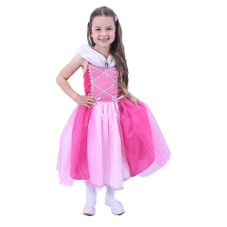 Obrázek Dětský kostým Princezna růžová (S)