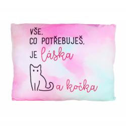 Obrázek ALBI Humorný polštář - Kočka