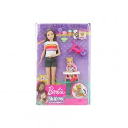 Obrázek Barbie Chůvá herní set - zábavné krmení o/s GHV87