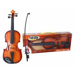 Obrázek housle se smyčcem