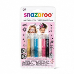 Obrázek Tužky na obličej - 6 barev dívčí