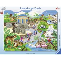 Obrázek Puzzle Návštěva v ZOO   30-48d