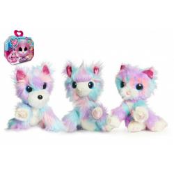 Obrázek Zvířátko FUR BALLS plyš Touláček CANDY FLOSS pejsek/kočka/lama s doplňky v krabici 24x20x10cm