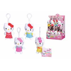 Obrázek Plyšová klíčenka Hello Kitty 10 cm 4 druhy DP24 - 4 druhy