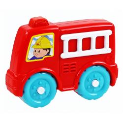 Obrázek auto požární se zvukem baby