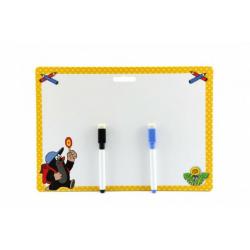 Obrázek Tabulka stíratelná + 2 fixy Krtek 30x21cm