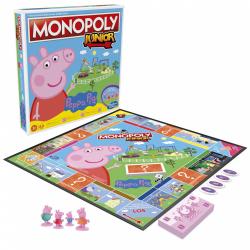 Obrázek Monopoly Junior Prasátko Peppa