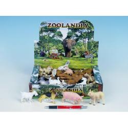Obrázek Zvířátka farma plast 5-10,5cm - 11 druhů