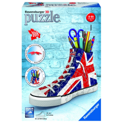 Obrázek Puzzle 3D Kecka Union Jack 3D 108 dílků