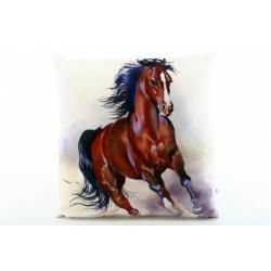 Obrázek Polštářek 33 x 33 cm kůň