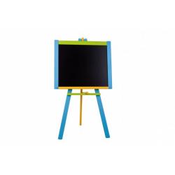 Obrázek Tabule stojanová modrá sololit dřevěná 100x56cm v krabici 57x101x6,5cm