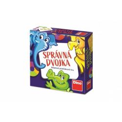 Obrázek Správná dvojka společenská cestovní hra v krabičce 13x13x4cm