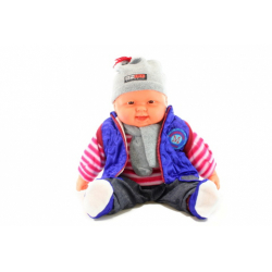 Obrázek Miminko velké - kluk - modrá vesta