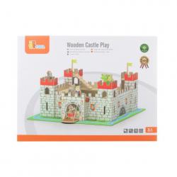 Obrázek drevený hrad
