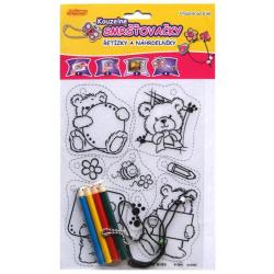 Obrázek Zmršťovacia obrázok- Retiazky a náhrdelníky, medvedíky, balón
