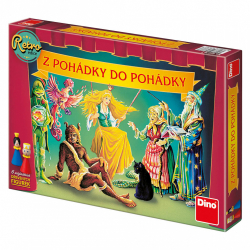 Obrázek Dětská hra Z pohádky do pohádky retro edice