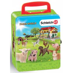 Obrázek Klein zberateľský kufrík SCHLEICH zvieratá