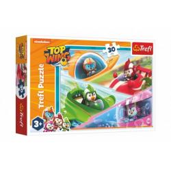 Obrázek Puzzle Ptačí kadeti/Top Wing 30 dílků 27x20cm v krabičce 21x14x4cm