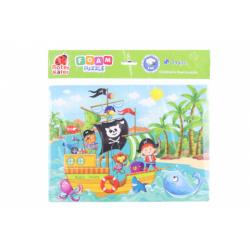 Obrázek Pěnové puzzle - piráti