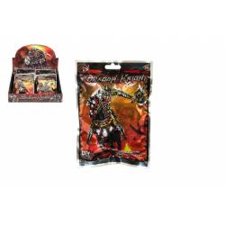 Obrázek Figurka bojovník rytíř plast  12x16x2cm