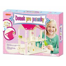 Obrázek Domek pro panenky- velký box, velikost domku 30x20x45cm