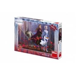 Obrázek Puzzle XL Ledové království II/Frozen II  300dílků 47x33cm v krabici 28x19x4cm