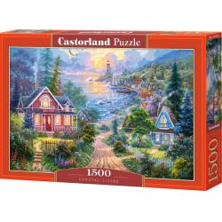 Obrázek Puzzle Castorland 1500 dílků - Život na pobřeží