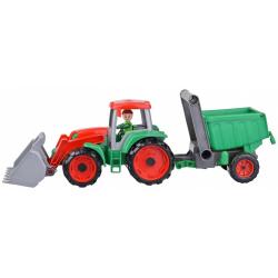 Obrázek Truxx Traktor s prívesom v krabici