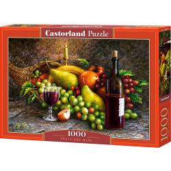 Obrázek Puzzle Castorland 1000 dílků - Ovoce a víno