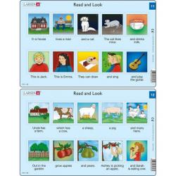 Obrázek Puzzle Angličtina - krátký text RA6 10 dílků
