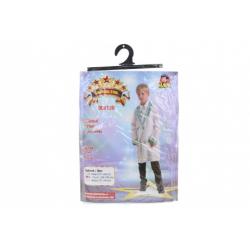 Obrázek Šaty na karneval - doktor, 120 - 130 cm
