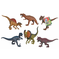 Obrázek Gumový dinosaurus 17-22cm 6 druhů