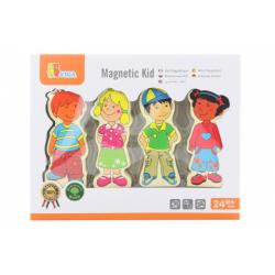 Obrázek Drevené magnetické postavičky