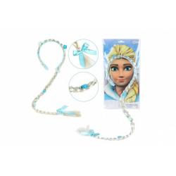 Obrázek Čelenka s copem Ledová princezna na kartě v sáčku karneval