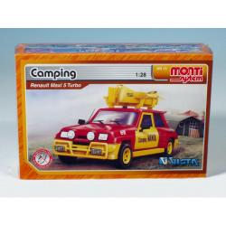 Obrázek Stavebnice Monti 15 Camping - Renault 5