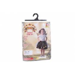 Obrázek Šaty na karneval - černá víla 92 - 104