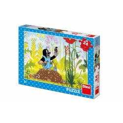Obrázek Puzzle Krtek v kalhotkách 24 dílků 26x18cm