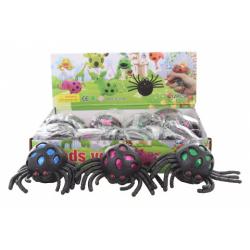 Obrázek Antistresový míček pavouk 12/bal