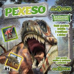 Obrázek Pexeso v sešitu Dinosauři
