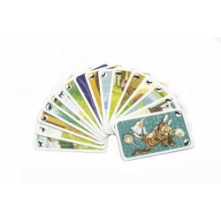 Obrázek Černý Petr zvířátka společenská hra karty v papírové krabičce 6,5x10,5x1cm