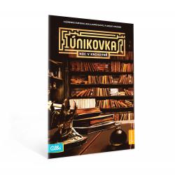 Obrázek ALBI Kniha Noc v knihovně (Únikovka)