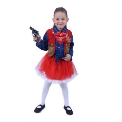 Obrázek Dětský kostým Kovbojka (M)