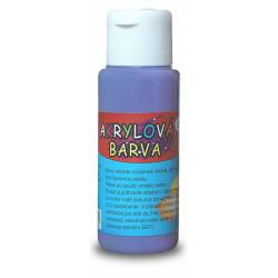 Obrázek Akrylová barva 60ml - fialová (red purple)