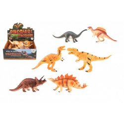 Obrázek Dinosauři plast 16-18cm mix druhů 12ks v boxu