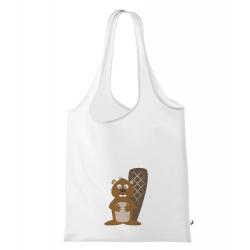 Obrázek Nákupní taška Veselá zvířátka - Bobr