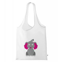 Obrázek Nákupní taška Veselá zvířátka - Sloník