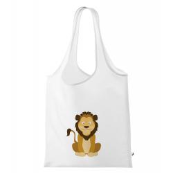 Obrázek Nákupní taška Veselá zvířátka - Lvíček