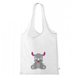Obrázek Nákupní taška Veselá zvířátka - Nosorožec
