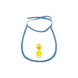 Obrázek Dětský bryndák Veselá zvířátka - Kačenka - modrý